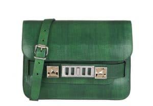 Proenza Schouler Green PS11 Classic Bag for Le Bon Marche