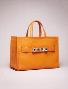 Proenza Schouler Orange PS11 Tote Bag - Spring 2014