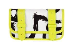 Proenza Schouler Yellow Graphic PS1 Wallet for Le Bon Marche
