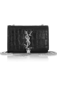 Saint Laurent Monogramme Croc Chain Messenger Bag - Spring 2014
