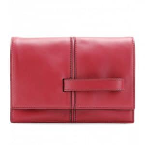 Valentino Red My Own Code Clutch Bag