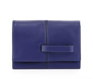 Valentino Royal Blue My Own Code Clutch Bag