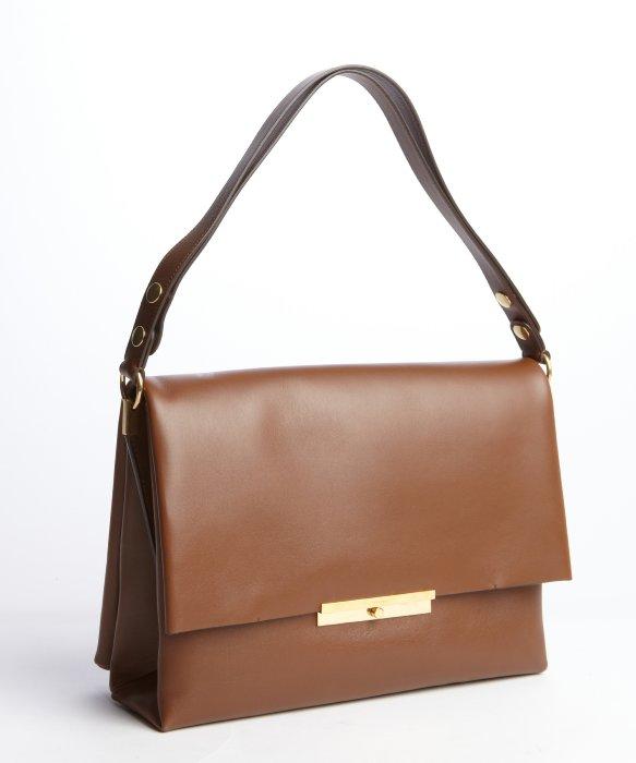 Celine Brown Blade Shoulder Bag