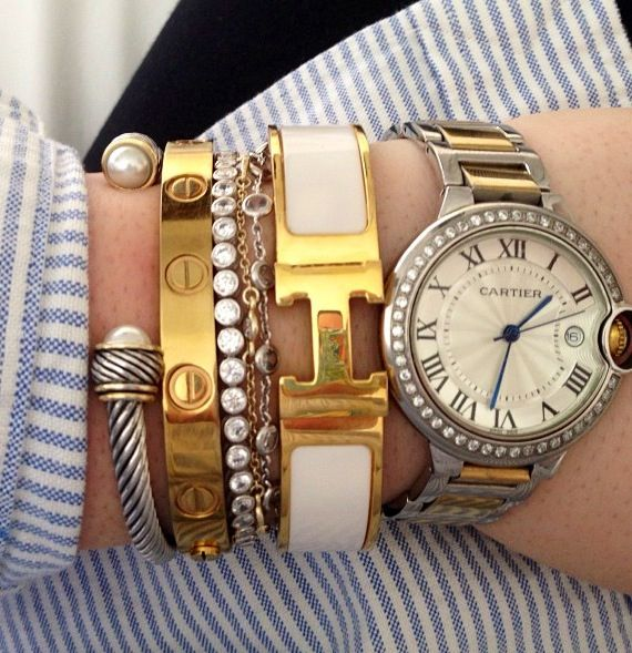 Célèbre The Guide to Stacking Designer Bracelets | Spotted Fashion TS56