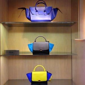 Celine Bags on display Summer 2014