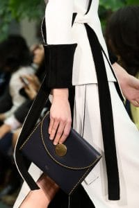 Celine Blue Envelope Clutch Bag - Fall 2014 Runway