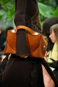 Celine Camel Pony Hair Bag - Fall 2014 Runway