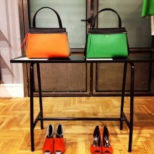 Celine Edge Bags on Display - Summer 2014