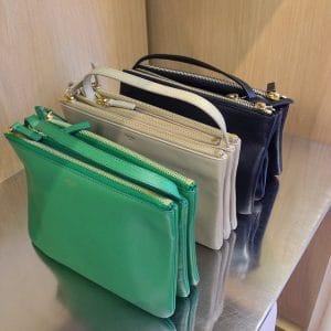 Celine Green Trio Messenger Bag - Summer 2014 colors