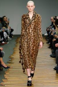 Celine Leopard Dress - Fall 2014 Runway