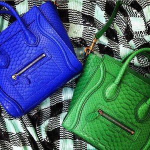 Celine Python Nano Luggage Bag - Summer 2014