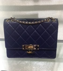 Chanel Black Golden Class Medium Flap Bag