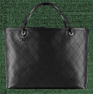 Chanel Black Shopping Fever Tote Large Bag