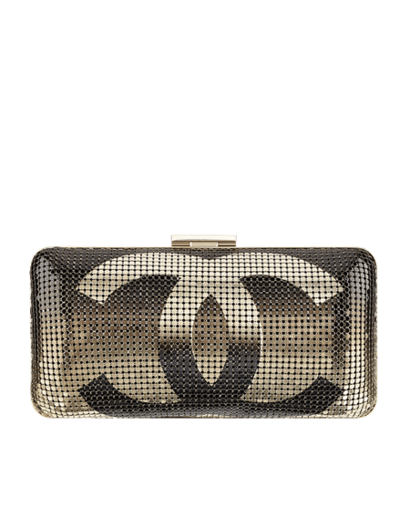 559957e904706e Chanel Hologram CC Minaudiere Clutch Bag Reference Guide | Spotted ...
