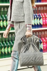 Chanel Flap Bag Drawstring Interior - Fall 2014