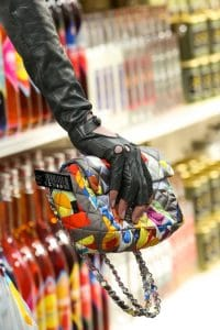 Chanel Nylon Multicolor Flap Bag - Fall 2014