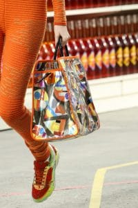Chanel Nylon Multicolor Shopping Bag - Fall 2014