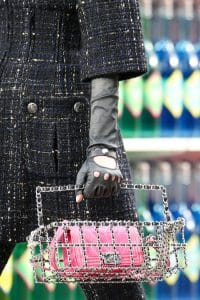 Chanel Pink Chevron Mini Boy Bag - Fall 2014