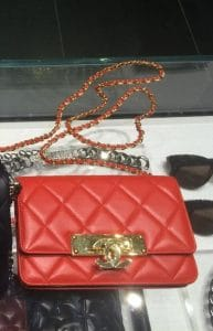Chanel Red Golden Class WOC Bag