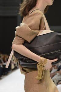 Chloe Black Large Clutch Bag - Fall 2014