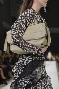Chloe Green Large Clutch Bag - Fall 2014
