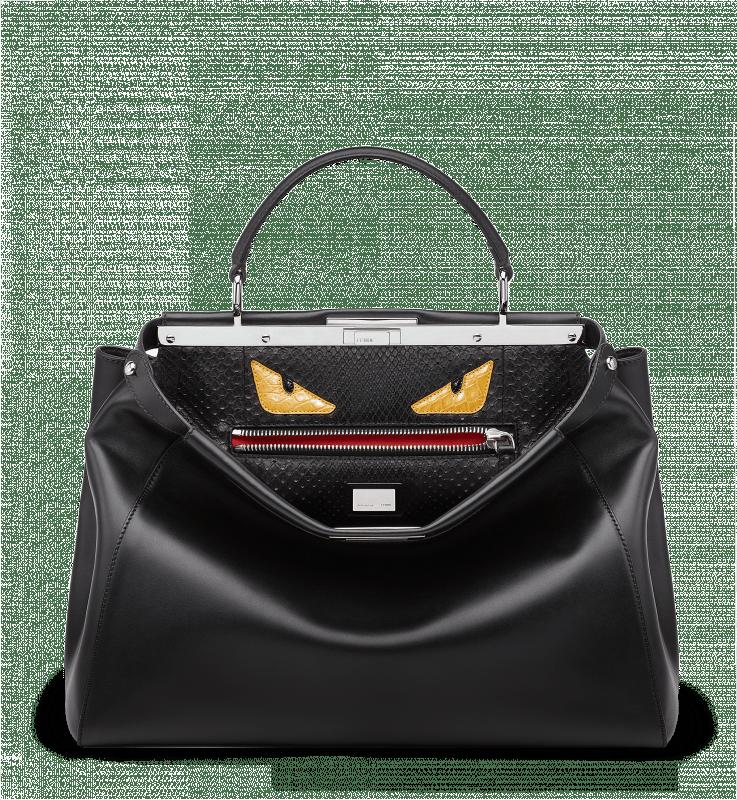 A Close Look at Fendi Peekaboo Bag Interior Designs and Materials ... 389164e897a
