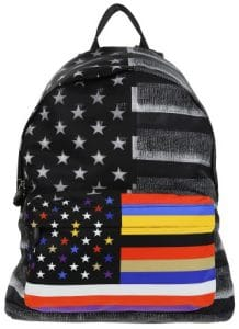 Givenchy American Flag Backpack Bag