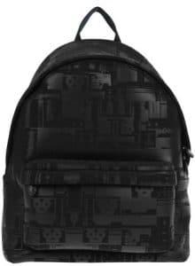 Givenchy Black Tech Print Backpack Bag