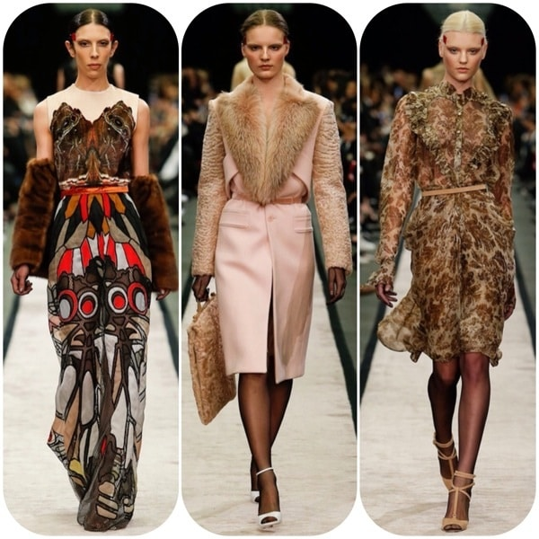 Givenchy Fall 2014 Runway Collection Features Moth Prints and Fur Coats 5495c02a020da