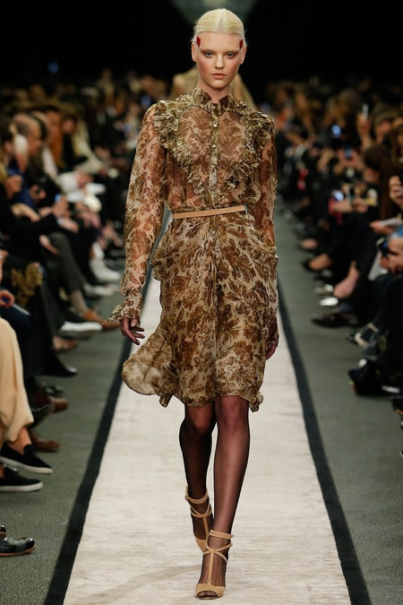 Givenchy Fall 2014 Runway Collection Features Moth Prints