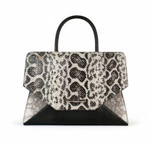 Givenchy Natural Anaconda/Tejus/Black Lizard Obsedia Medium Bag