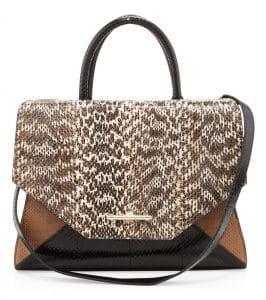 Givenchy Natural Snake Obsedia Tote Medium Bag