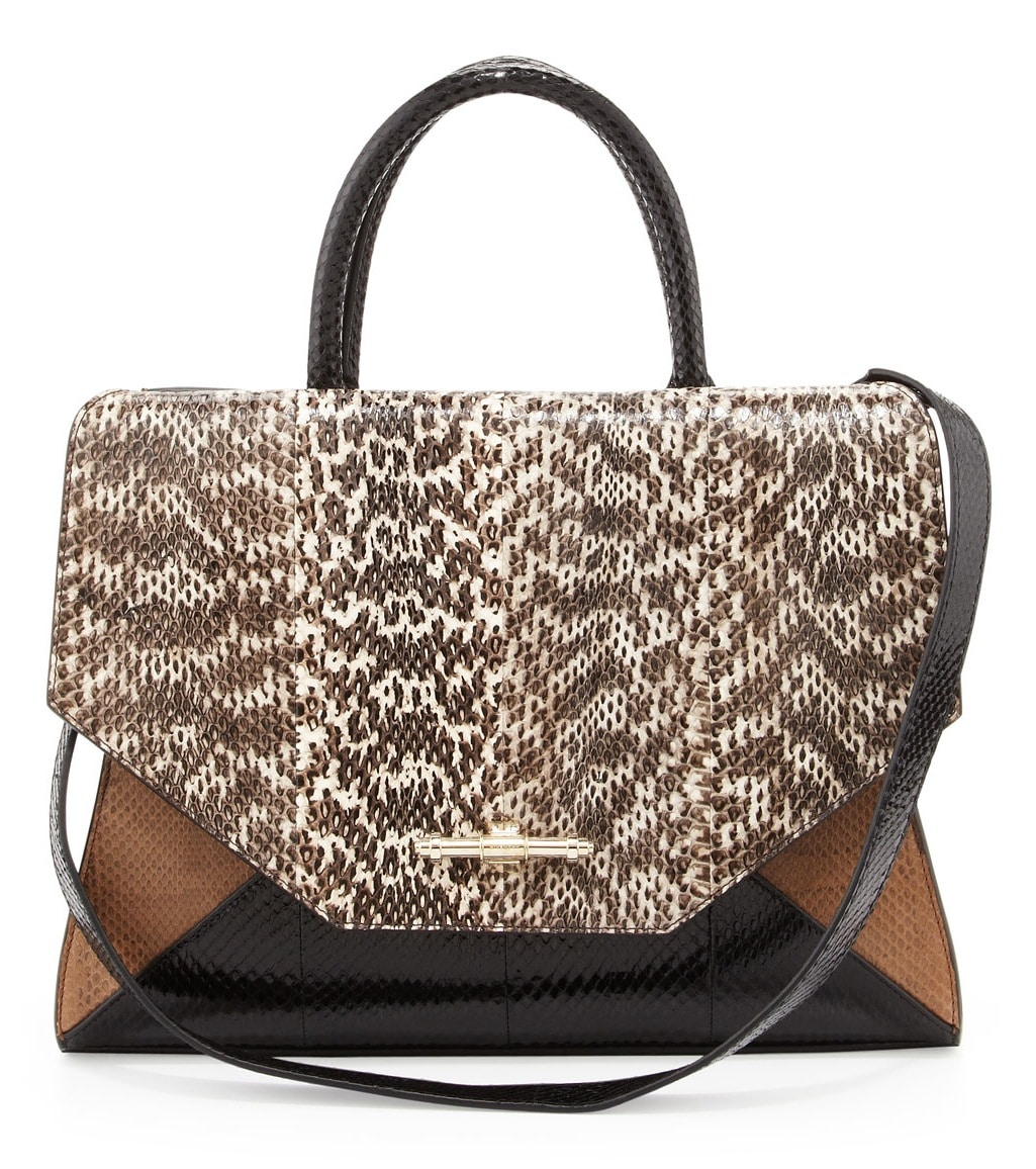 cac7164ddd Givenchy Natural Snake Obsedia Tote Medium Bag