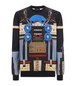 Givenchy Robot Print Sweatshirt
