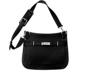 Hermes Black Jypsiere Bag