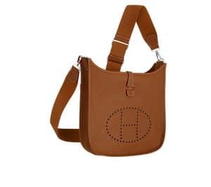 Hermes Gold Evelyne III Bag