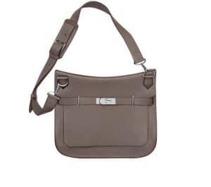 Hermes Grey Jypsiere Bag