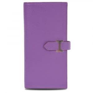 Hermes Lilac Bearn Wallet