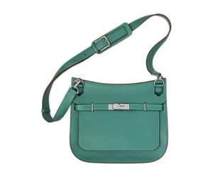 Hermes Malachite Green Jypsiere Bag