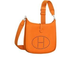 Hermes Orange Evelyne III Bag