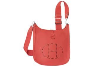 Hermes Rose Jaipur Evelyne III Bag