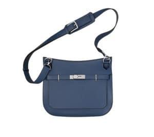 Hermes Sapphire Blue Jypsiere Bag