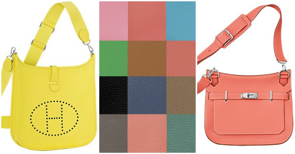 hermes spring 2014 colors for jyspiere and evelyne bags