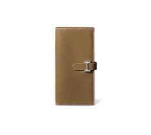 Hermes Taupe Epsom Bearn Wallet