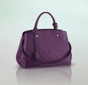 Louis Vuitton Amethyste Monogram Empreinte Montaigne MM Bag