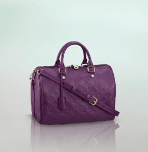 Louis Vuitton Amethyste Monogram Empreinte Speedy Bandouliere 30 Bag