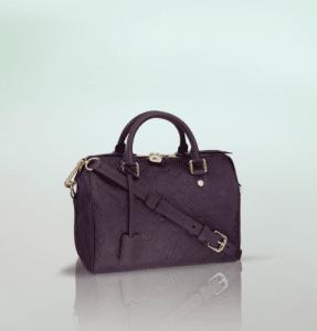 Louis Vuitton Aube Monogram Empreinte Speedy Bandouliere 25 Bag