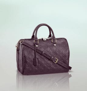 Louis Vuitton Aube Monogram Empreinte Speedy Bandouliere 30 Bag
