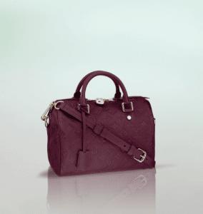 Louis Vuitton Aurore Monogram Empreinte Speedy Bandouliere 25 Bag