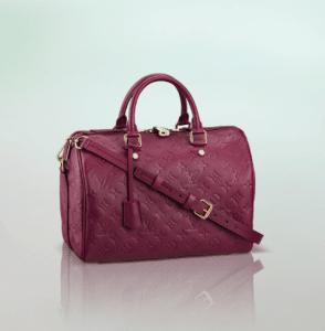 Louis Vuitton Aurore Monogram Empreinte Speedy Bandouliere 30 Bag